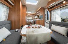 Der Saphir 515 SG mit Einzelbetten und großer Sitzgruppe. (Foto: Werk)