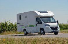 Das Außendesign der Forster-Reisemobile wirkt jetzt deutlich frischer. (Foto: det)