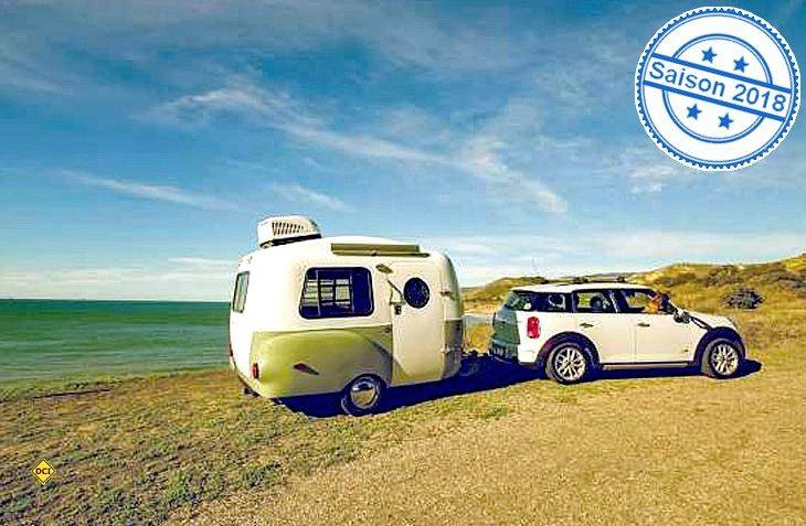Der Happier Camper HC 1 ist ein leichter Retro-Camper aus den USA für kleine Zugfahrzeuge. (Foto: Werk)