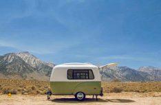 Haltbar und fast unsinkbar: Der Happier Camper ist aus einem GfK-Monocoque gefrtigt. (Foto: Werk)