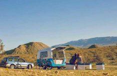 Superpraktisch: Die Heckklappe des Happer Camper HC 1. (Foto: Werk)
