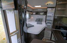 Das Hobby-Jubiläumsmodell XXX mit französischen Bett im Heck. (Foto: det)