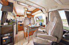 Hobby bietet für seine Kastenwagenbaureihe Vantana ein zusätzliches, tweites Möbedekor zur Auswahl an. (Foto: Werk)
