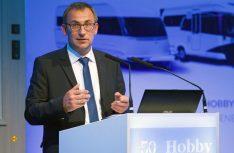 Hobby-Geschäftsführer Holger Schulz konnte gute Zahlen für die Hobby-Gruppe verkünden. (Foto: det)