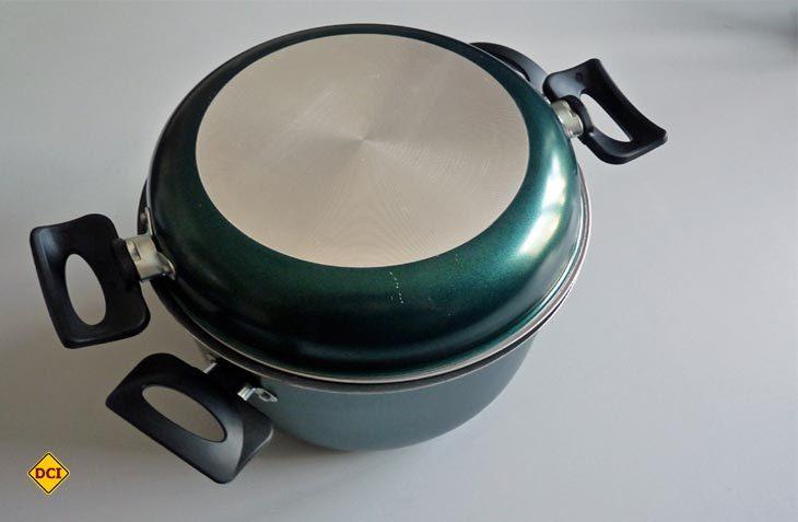 Grün, leicht und kompakt – das Kochset von Enders. (Foto: det)