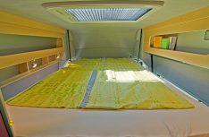 Ein beqeumes Doppelbett mit viel Schlafkomfort und jede Menge Platz, Licht und Luft. (Foto: Werk)