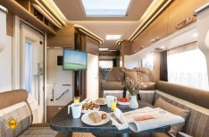 Durchgehender, ebener Fahrzeugboden und ein helles, hochwertiges Ambiente in der neuen Malibu T-Baureihe. (Foto: Werk)