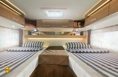 Mit dem Malibu I/T 430 ergänzt Malibu seine Baureihen um einen attraktives Einzelbetten-Fahrzeug. (Foto: Werk)
