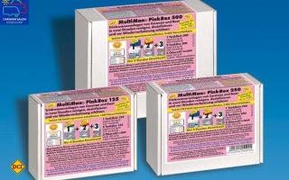 PinkBox 125, 250, 500 zur schnellen und gründlichen Reinigung von Trinkwassertanks in Caravan und Boot. (Foto: Werk)