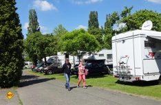 Mit dem Campingplatz XXX hatte man vor den Toren Prags ein tolles Basislager ausgesucht. (Foto: Tischer)