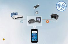 Der Gasfüllstandsmesser LevelControl von Truma ist in das INet-System integriert und kann Gasfüllstände per Bluetooth oder SMS an die Truma-App melden. (Foto: Werk)