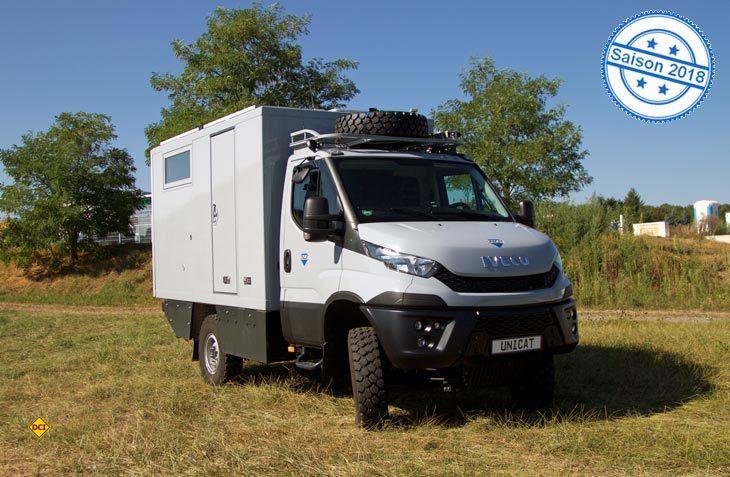 Mit dem Terracross TC 36 C bietet Unicat ein kompaktes, extrem geländegängiges und luxuriöses Fernreisemobil an. (Foto: Unicat)