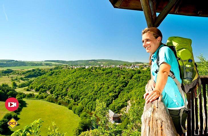 Rheinland-Pfalz Tourismus hat elf Tipps für interessante Wanderungen mit Kulturerlebnis in Rheinland-Pfalz zusammengestellt. (Foto: Rheinland-Pfalz Tourismus)