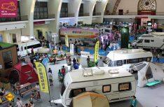 Viele europäische Reisemobil- und Caravanhersteller waren auf der sechsten All-in-Caravaning in Peking vertreten. (Foto: Caravan Salon)