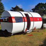 Einfach ausziehen – Eric Beau präsentiert Teleskop-Wohnwagen