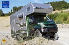 Ein Expeditionsmobil für die ganze Familie: Bis zu sechs Personen finden im neuen Bimobil EX 420 Platz. (Foto: Werk)