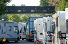 Durch das neuen Bezahlsystem und die Optimierung der Platz-Logistik wird die Anreise und das Einbuchen am Caravan Center noch einfacher. (Foto: Caravan Salon)