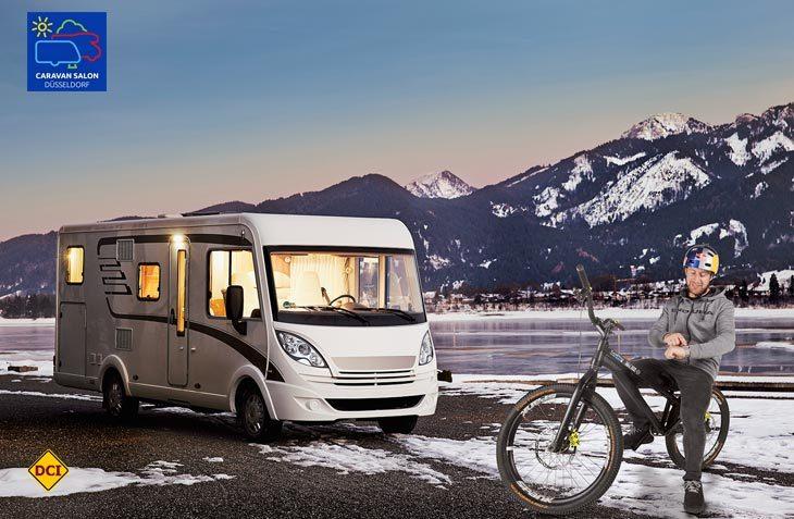 Der schottische Bike-Trial-Profi Danny MacAskill, selbst überzeugter Reisemobil-Besitzer, ist neuer Markenbotschafter für Eberspächer. (Foto: Werk)