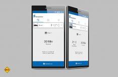 Eberspächer EasyStart Web: Bedienelement zur Kommunikation zwischen Smartphone, Smartwatch und Standheizung. (Foto: Werk)