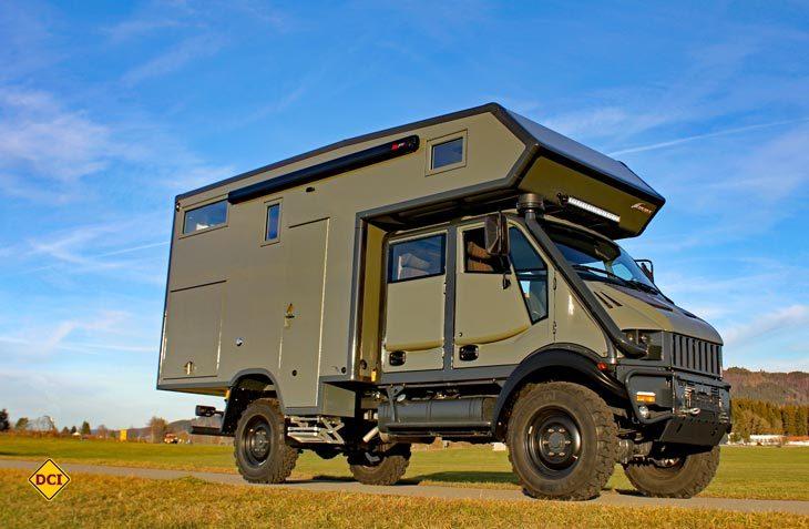 Familienfreundliches Fernreisemobil: Exploryx baut seinen Impala auf dem Bremach Doppelkabiner. (Foto: Werk)