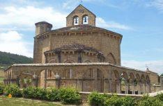 Die romanische Kapelle St. Maria de Eunate in Navarra. (Foto: Meurer)