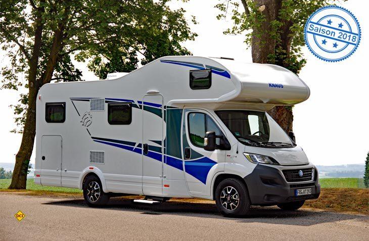 Mit der neuen Modellreihe L!ve bietet Knaus preiswerte Einsteigermobile mit Vollausstattung an. Hier der neue Knaus Traveller L!ve. (Foto: alf)