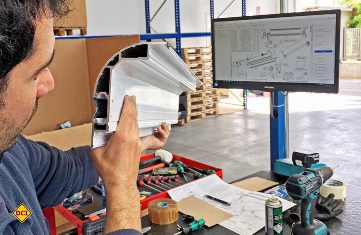 Lippert Components produziert seine Reisemobil Slide Out-Systeme für Europa jetzt in Italien. (Foto: Lippert)