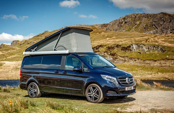 Das in Europa erfolgreiche Reisemobil Marco Polo von Mercedes-Benz feiert jetzt auch in Australien seine Marktpremiere. (Foto: Werk(