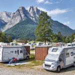 Hoch hinaus mit dem Reisemobil – Gewinnen Sie einen 8-Tage-Aufenthalt im Camping Resort Zugspitze