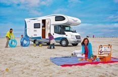 Bei Urlaubsreisen mit Kindern muss besonders vorgesorgt werden, damit der Urlaub zur Erholung wird. (Foto: Hobby)