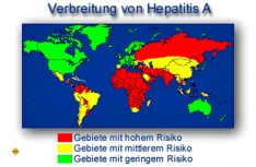 Vor Fahrtantritt über die Risikogebiete informieren wie Hepatitis A und seine Verbreitungsgebiete. (Foto: DCI-Archiv)