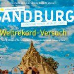 Weltrekordversuch der Sandburgenbauer in Duisburg