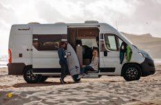 Mit vier beliebten Grundrissvarianten startet Sunlight seine neue Campingbus-Baureihe Cliff. (Foto: Werk)