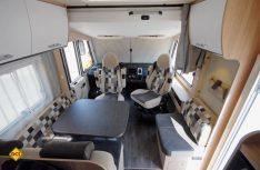 Der neue Sunlight I 68 mit der gemütlichen Sitzgruppe bietet viel Platz und Lebensraum. (Foto: det)