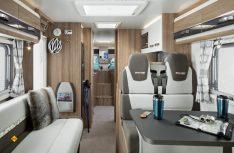 Die Swift-Top-Baureihe Toscane 700 ist edel eingerichtet und hochwertig ausgestattet. (Foto: Swift)