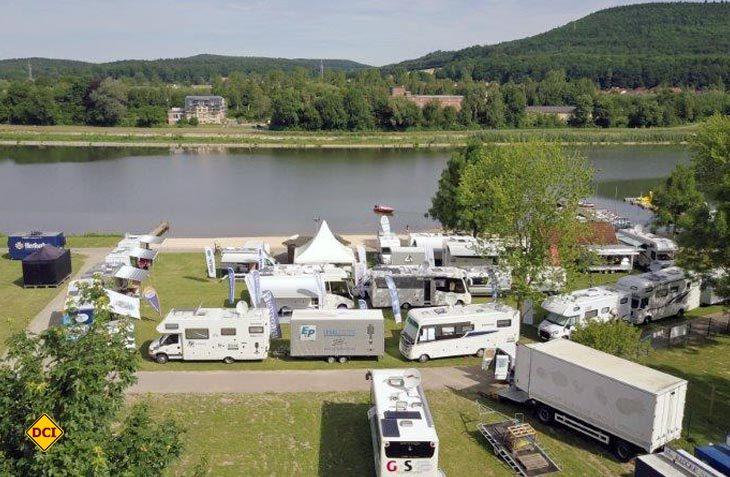 Die größte Technik Caravane aller Zeiten mit 16 Firmen fand auf drei bekannten Reisemobil-Stellplätzen in Nordrhein-Westfalen und Hessen statt. (Foto: Technik Caravane)