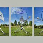 Neue mobile, vollautomatische Satelliten-Anlage – TELECO Activ SAT