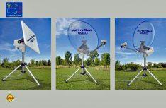 Teleco stellt mit der Activ Sat eine tragbare vollautomatische Sat-Anlage in coolem Design vor. (Foto: Werk)