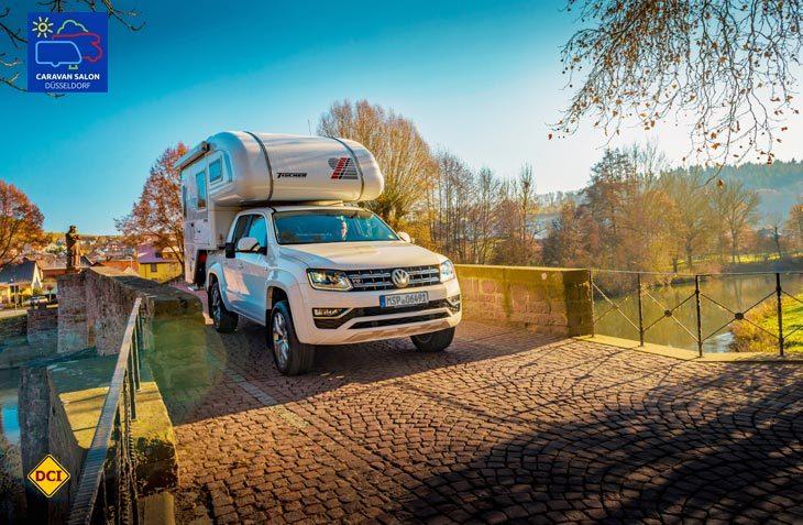 Tischer präsentiert für seine Pick Up-Kabinen neue Basisfahrzeuge und überarbeitet einzelne Kabinenbaureihen gründlich. (Foto: Werk)