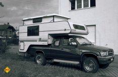 Ein alter Bekannter ist zurück: Schon zur Tischer Frühzeit diente der Toyota Hilux als solide und verlässliche Basis für Tischer Pick Up-Kabinen. (Foto: Werk)