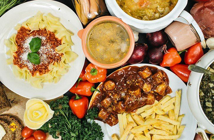 Das Angebot der Wurstgeschwister reicht von Eintöpfen über Suppen bis zur Currywurst sowie fleischfreien und veganen Gerichten. (Foto: Wurstgeschwister)