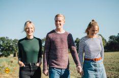 Das sind die Wurstgeschwister: Anja, Daniel und Nadine Rüweling aus dem Münsterland. (Foto: Wurstgeschwister)