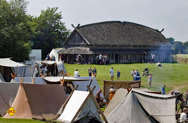 Nicht nur für Kids ist das farbenfrohe und authentische Wikingerfestival im Westen von Seeland eine lehrreiche, spannende und amüsante Veranstaltung. (Foto: Visitdenmark)