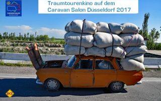 Traumtouren-Kino auf dem Caravan Salon 2017. Ein Fest für alle Sinne. (Foto: Messe Düsseldorf / Caravan Salon)