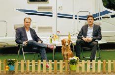 Chris Möller (links) und Frederik Fröhle leiten als Geschäftsführer aktuell das operative Gescschäft von Campanda. (Foto: Campanda)