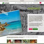 Camping-Plattform Campanio mit neuer Webseite