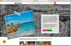 Campanio, die Online-Buchungs- und Info-Plattform für Camper hat ihre Webseite neu gestaltet. (Foto: Campanio)