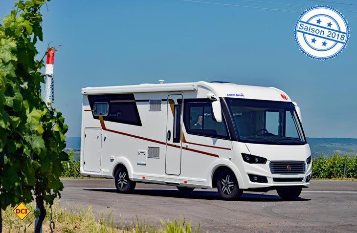 Mit dem neunen Integra 700 EB erweitert Eura Mobil die neue Serie um einen fahraktiven Vollintegrierten mit viel Komfort. (Foto: det)