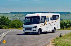 Mit dem Integra 700 EB stellt Eura-Mobil das zweite Fahrzeug in der neuen Integra-Baureihe vor. (Foto: det)