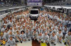 1.000 Transporter verlassen täglich das Sevel Sud-Werk. Bereits 2015 wurde der 5-millionste Transporter gefeiert. (Foto: Werk)